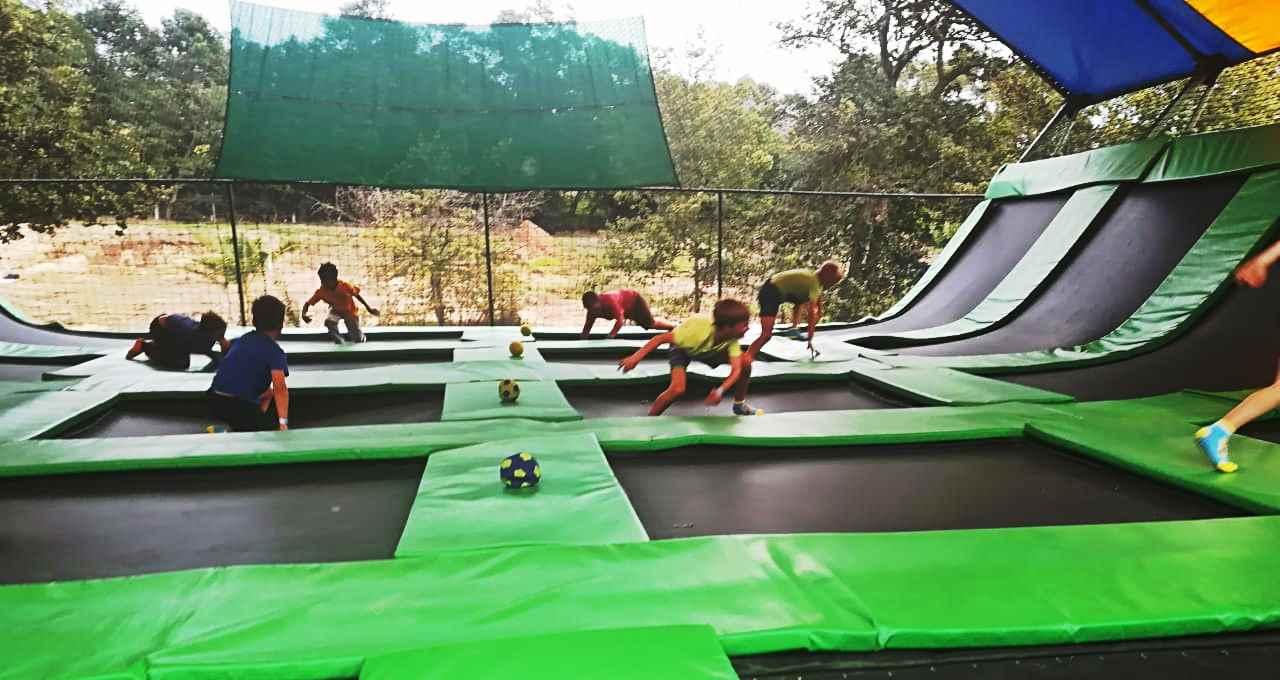trampoline park cape town
