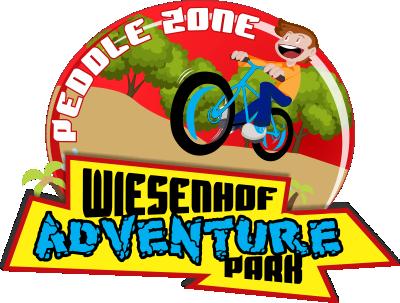 wiesenhof adventure park peddle zone logo